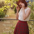 DIY Knife-Pleated Skirt