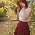 DIY Knife-Pleated Skirt