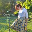DIY Gathered Skirt