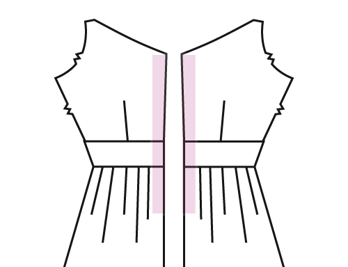 The best invisible zipper tutorial ever carbon chic line up your opened zipper against your fabric edge of the zipper tape against the edge of your fabric and the teeth curled upward like shown in the photo ccuart Gallery